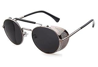 Men's steampunk style sunglasses