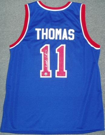 sneakers for cheap fb43c a46a5 Amazon.com : Isiah Thomas Signed Jersey : Sports Related ...