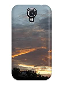 Tpu Shockproof Scratcheproof Cloud Hard Case Cover For Galaxy S4