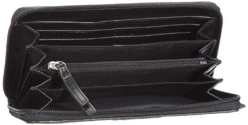 Calvin Klein Sport Logo K53108C5800, Damen Portemonnaies 19x10x2.5 cm (B x H x T) Schwarz (Black Shiny 9b8)