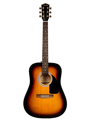 Fender FA-100 Dreadnought Acoustic Guitar - Sunburst
