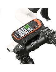 Wicked Chili Fietshouder voor Garmin eTrex, Dakota, Oregon, Approach, Astro, GPSMAP (precies passend, QuickFix, hersluitbare kabelbinders, Made in Germany) zwart