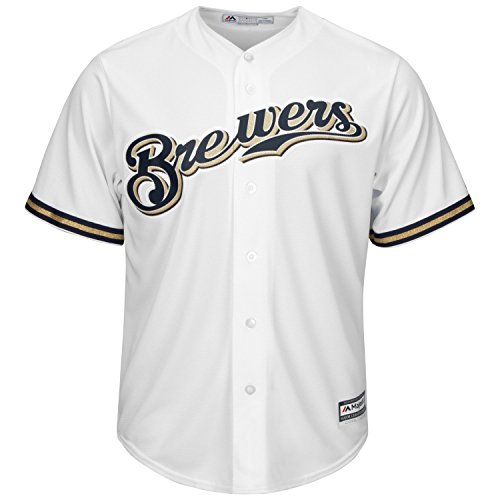 Majestic Authentic Cool Base Jersey - Milwaukee Brewers - XXL
