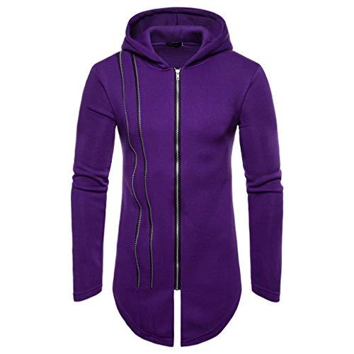 Clearance Sale! 2018 Wintialy Mens' Autumn Winter Long Sleeve Zipper Splicing Hoodies Sweatshirt (K-12 Gear Jumper)