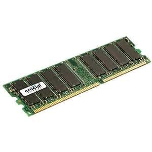 Crucial Technology 256MB 184-Pin PC3200 400Mhz DIMM DDR RAM