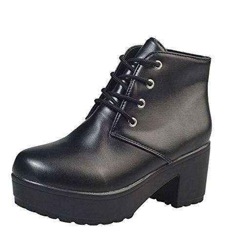 En Petites Sandales Pure Femmes Talon Épaisse Cuir Noir Escarpins 2018 Luckycat Avec Couleur Sexy Et Chaussures Femme De Chaussure Plates TZgwWAqp