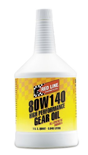 Red Line 58104 Synthetic Gear Oil - 1 Quart Bottle