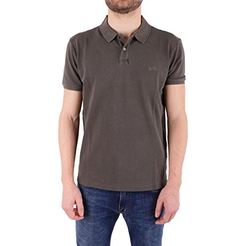 Wopol0515 Woolrich Verde Polo Cotone In nvnt7SxYBF