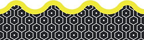 - Aim High Hexagons Scalloped Borders