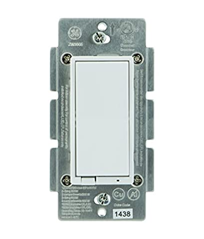 Previous Model : GE Z-Wave Wireless Smart Lighting Control Smart Dimmer Switch, In-Wall, Includes White & Light Almond Paddles, Works with Amazon Alexa, (3 Function Light Switch)