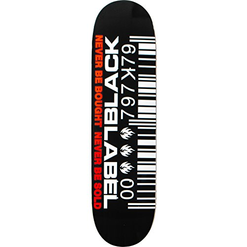 Black Label Skateboard Deck
