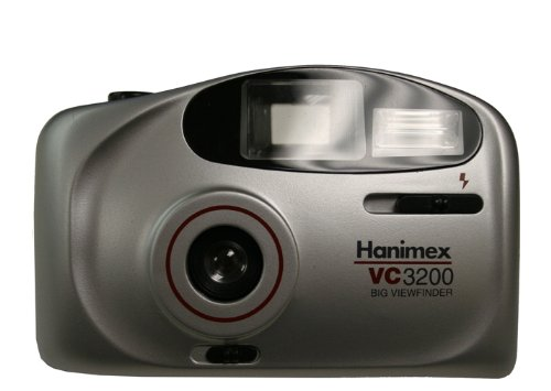 Hanimex VC3200 Big Viewfinder 35mm Film Camera Silver