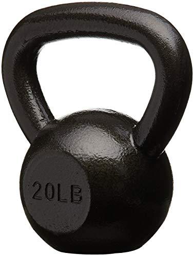 AmazonBasics Cast Iron Kettlebell, 20 lb by AmazonBasics (Image #1)