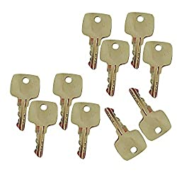 Mover Parts (10) Ignition Keys AR51481 for John De