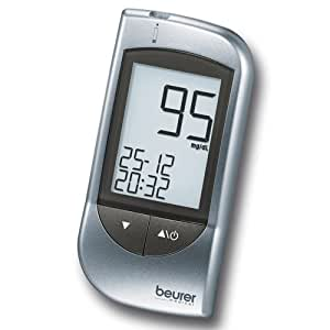 Beurer GL32 (mg/dL) - Medidor de glucosa (96 mm, 46 mm, 20 mm) Plata