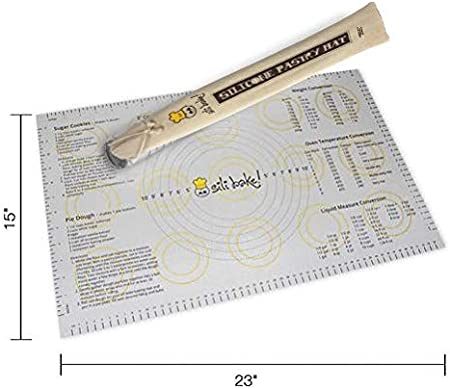 60x40 ausrollmatte Baking Mat Silicone Fondant Rolling Mat Pastry Mat zbfür Thermomix