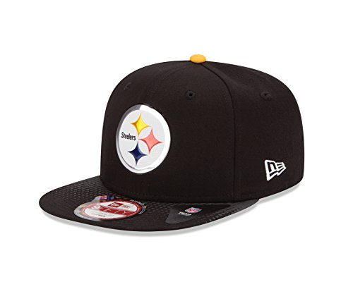 huge discount 7e315 95611 NFL Draft 2015 Pittsburgh Steelers 9Fifty Snapback Cap, One - Import ...