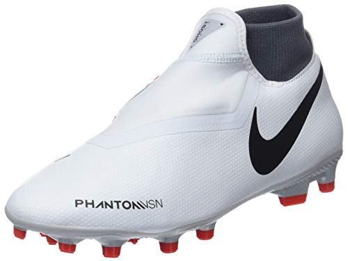 NIKE Hypervenom Phantom Vision Academy DF MG Soccer Cleat (Pure Platinum) (Men's 10/Women's 11.5) ()