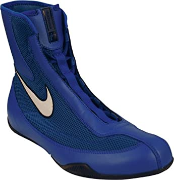 15d0f62342913 Nike Machomai Boxing Shoes - Blue Mid: Amazon.co.uk: Sports & Outdoors