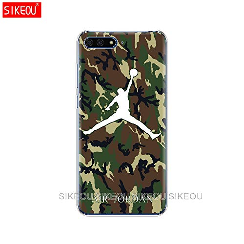 1 piece Silicone Cover Phone Case For Huawei Honor 7A PRO 7C Y5 Y6 Y7 Y9 2017 2018 Prime jordan 23 basketball (Best Prepaid Cell Phone Plans Comparison)