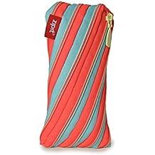 ZIPIT Twister Pencil Case, Orange and Blue