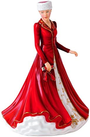 Royal Doulton Hallelujah Chorus Figurine, 4.3 by 5.3 by 6.8 , Red