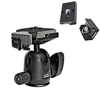 Manfrotto 494RC2 Mini Ball Head with Quick Release and Two Replacement Quick Release Plates for the Rc2 Rapid Connect Adapter With Extra Plates (B004L11R4C)   Amazon price tracker / tracking, Amazon price history charts, Amazon price watches, Amazon price drop alerts