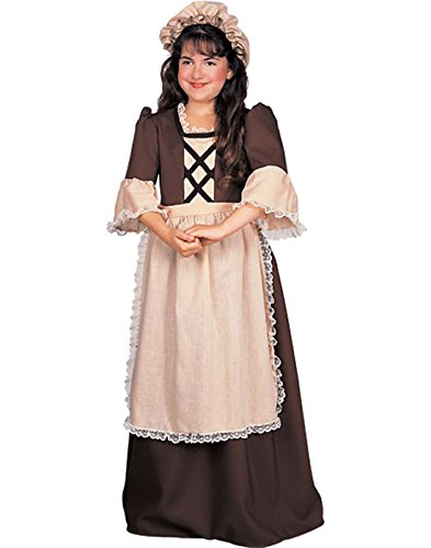 Colonial Girl Costume - Small (Colonial Costumes For Kids)