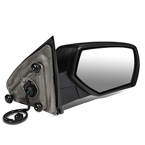 DNA Motoring TWM-050-T111-BK-R Right Side Powered+Heated Rear View Towing Mirror