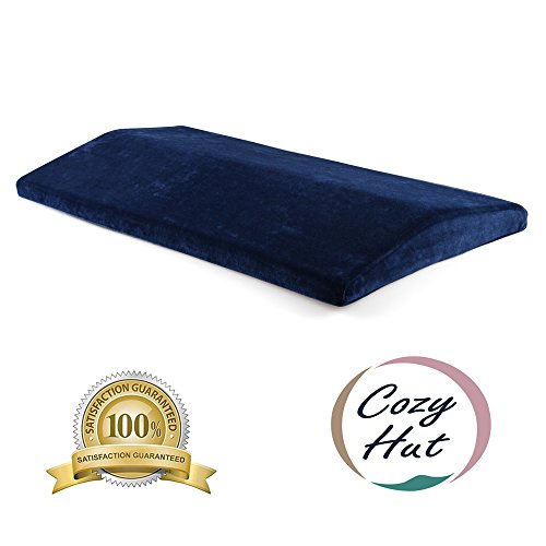 Cozy Hut Soft Memory Foam Sleeping Pillow for Lower Back Pain,Multifunctional Lumbar Support Cushion for Hip,Sciatica and Joint Pain Relief,Orthopedic Side Sleeper Bed Pillow by Cozy Hut (Image #7)