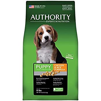 Amazon Com Authority Puppy Food 8lb Bag Pet Supplies