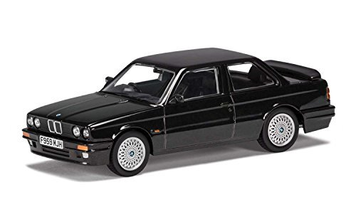 (Corgi 1/43 BMW E30 Coupe 325i Sport M-Tech 2 Diamond black)