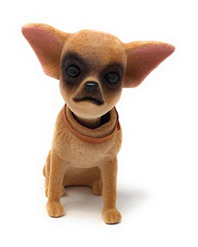 Noveltees Company Bobbing Head Dog, Bobble Head Chihuahua, Sitting Up