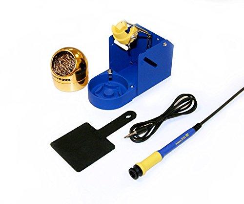 Soldering Iron Kit, Blue/Yellow, 1.3m L by Hakko