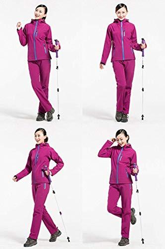 Plein Soft Polaire large Oudan coloré À X Unisexe women Taille Voyage Imperméable De Résistant En Shell Air Purple Veste Capuche L'eau wwq4pPFW