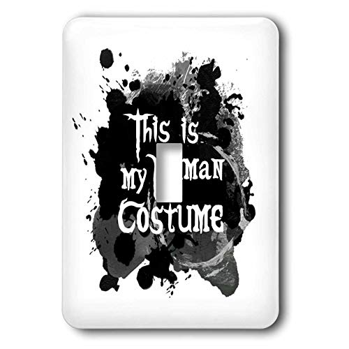 3dRose InspirationzStore - Occasions - This is my Human Costume - humorous funny Halloween disguise humor - 2 plug outlet cover (lsp_317320_6)]()