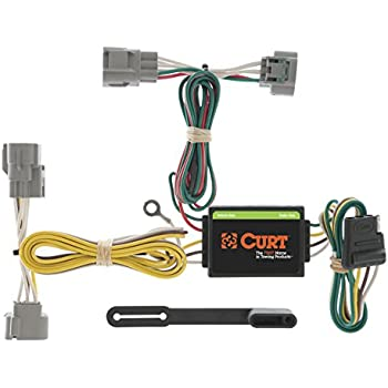 410bTD%2BPqjL._SL500_AC_SS350_ amazon com curt 56040 custom wiring connector automotive Curt 7 Pin Wiring Harness at bayanpartner.co