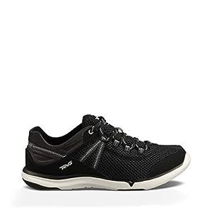Teva Women's Evo Water Shoe, Black, 9.5 M US