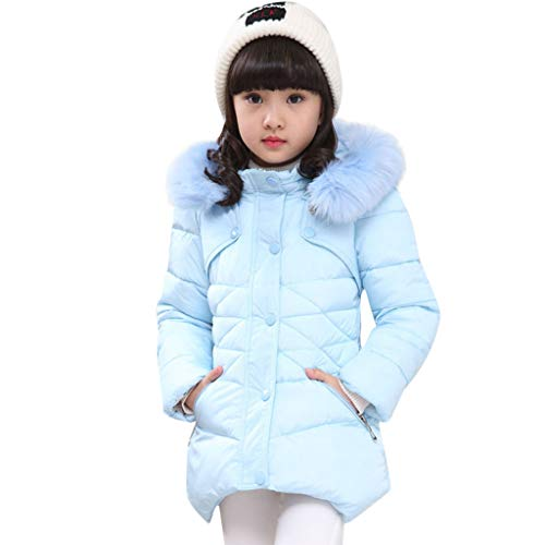 Price comparison product image FEITONG Kids Baby Winter Solid Coat Cloak Jacket Thick Warm Hoodie Outerwear Clothes