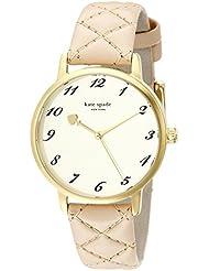 kate spade new york Womens 1YRU0785 Metro Gold-Tone Stainless Steel Watch