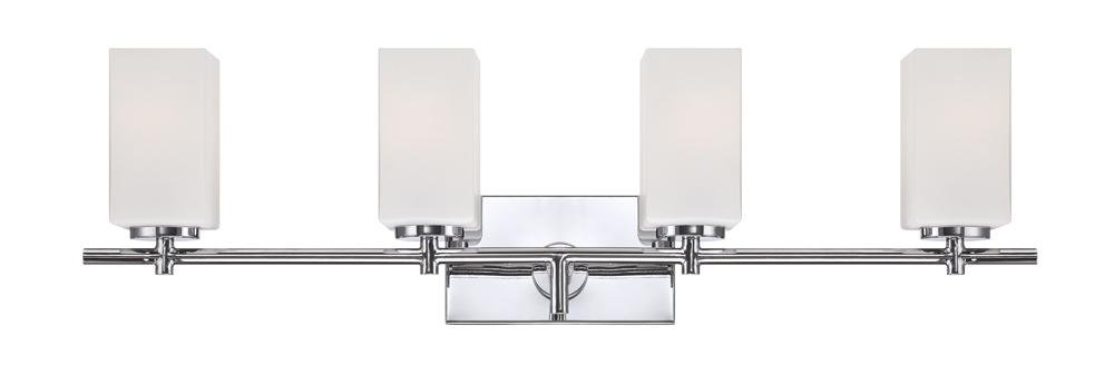 Designers Fountain 6734-CH Dakota 4 Light Bath Bar