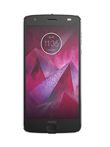 Moto Z2 Force XT1789 (64GB, 4GB RAM) 5.5in 4G LTE GSM Unlocked Smartphone - Lunar Gray (Renewed)
