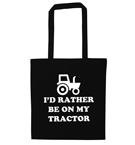 my on Black be tractor Black bag on my be I'd tote bag rather tote rather tractor I'd dRq4pdxn