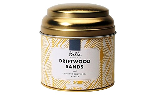 Bella by Illume Tin Soy Candle Driftwood Sands 10.2 oz