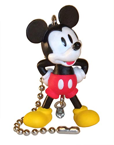 Mickey Mouse Clubhouse Ceiling Fan Pull by Wooden Androyd Studio - Kid's Room Nursery Decor, Kid's Gift, Baby Shower Gift. (Technicolor) ()