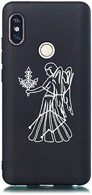 SWMGO® Firmeza y Flexibilidad Smartphone Funda Carcasa Case Cover Caso para Xiaomi Redmi Note 5 Pro(8): Amazon.es: Electrónica
