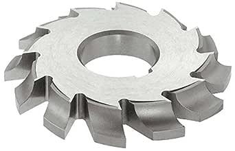 KEO Milling 81403 Large Diameter Convex Milling Cutter,CVL Style 1-1//4 Circle Diameter 6 Cutting Diameter TiAlN Coating 5//8 Convex Radius 1-1//4 Arbor Hole HSS 14 Teeth