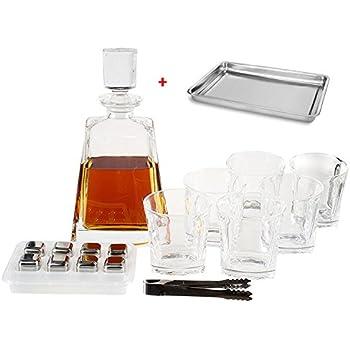Amazon.com | Bormioli Rocco Dedalo 7-Piece Whiskey