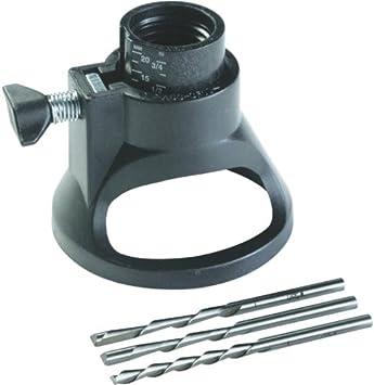 DREMEL Accessoires Kit 70 Pièces avec routeur Head /& 2 Spirale Cutters