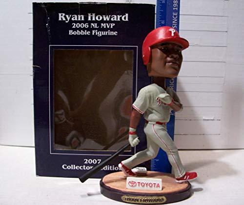2007 RYAN HOWARD 2006 NL MVP PHILADELPHIA PHILLIES SGA BOBBLEHEAD FIGURINE MINT